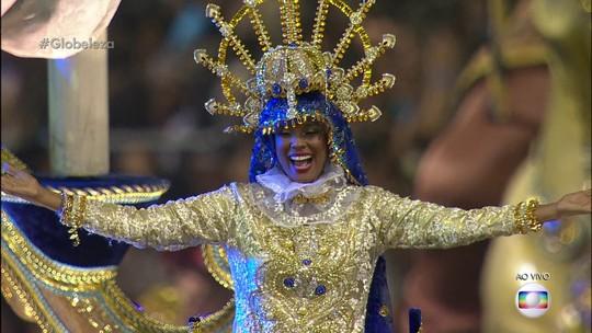 Unidos de Vila Maria junta religião a carnaval e exalta Nossa Senhora Aparecida