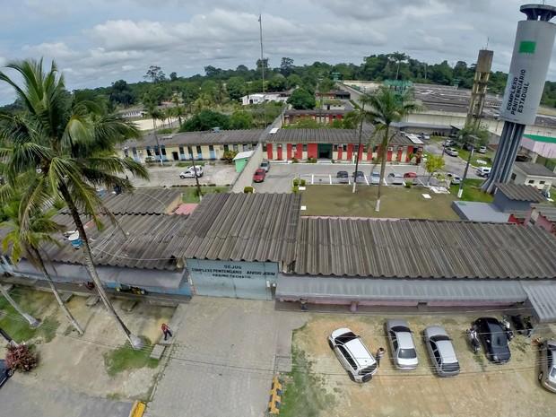 Complexo Penitenciário Anísio Jobim registrou tentativas de fugas (Foto: Divulgação/Seap)