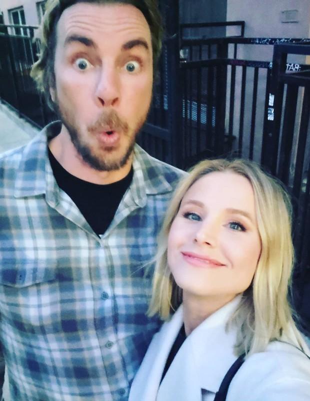 Kristen Bell e Dax Shepard (Foto: Reprodução/Instagram)