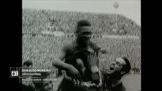 """Redação AM homenageia aniversário de Pelé com """"beleza de gol"""" em 58"""