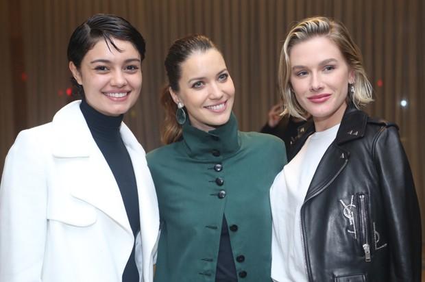 Sophie Charlotte, Nathalia Dill e Fiorella Mattheis (Foto: Anderson Borde/AgNews)
