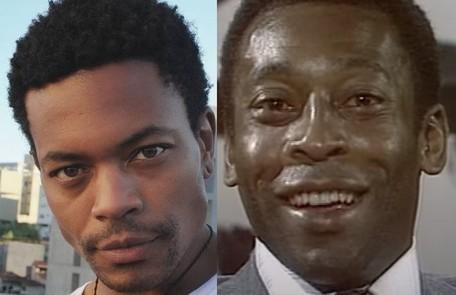 """O ator Demétrio Alves interpretará Pelé na segunda temporada da série """"El Presidente"""", da Amazon. As gravações vem ocorrendo no Uruguai Reprodução"""