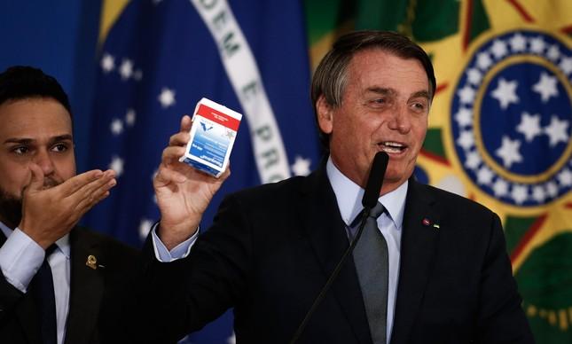 Bolsonaro e a cloroquina