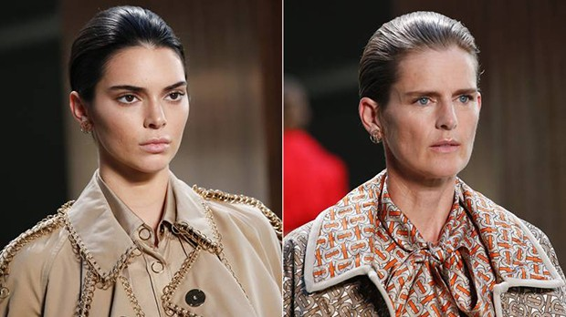 Riccardo Tisci's inventive reworking of classic Burberry tropes for Spring/Summer 2019 (Foto: MARCUS TONDO / INDIGITAL.TV)