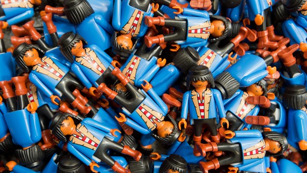 Brinquedos Playmobil (Foto: Timm Schamberger/Getty Imagens)
