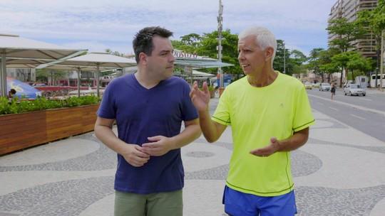 Expedição Urbana mostra como os cariocas aproveitam os espaços abertos para se exercitar