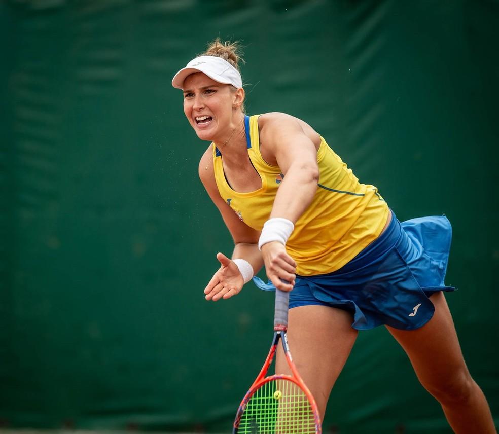 Beatriz Haddad Maia Brasil Fed Cup — Foto: Sergio Llamera / ITF