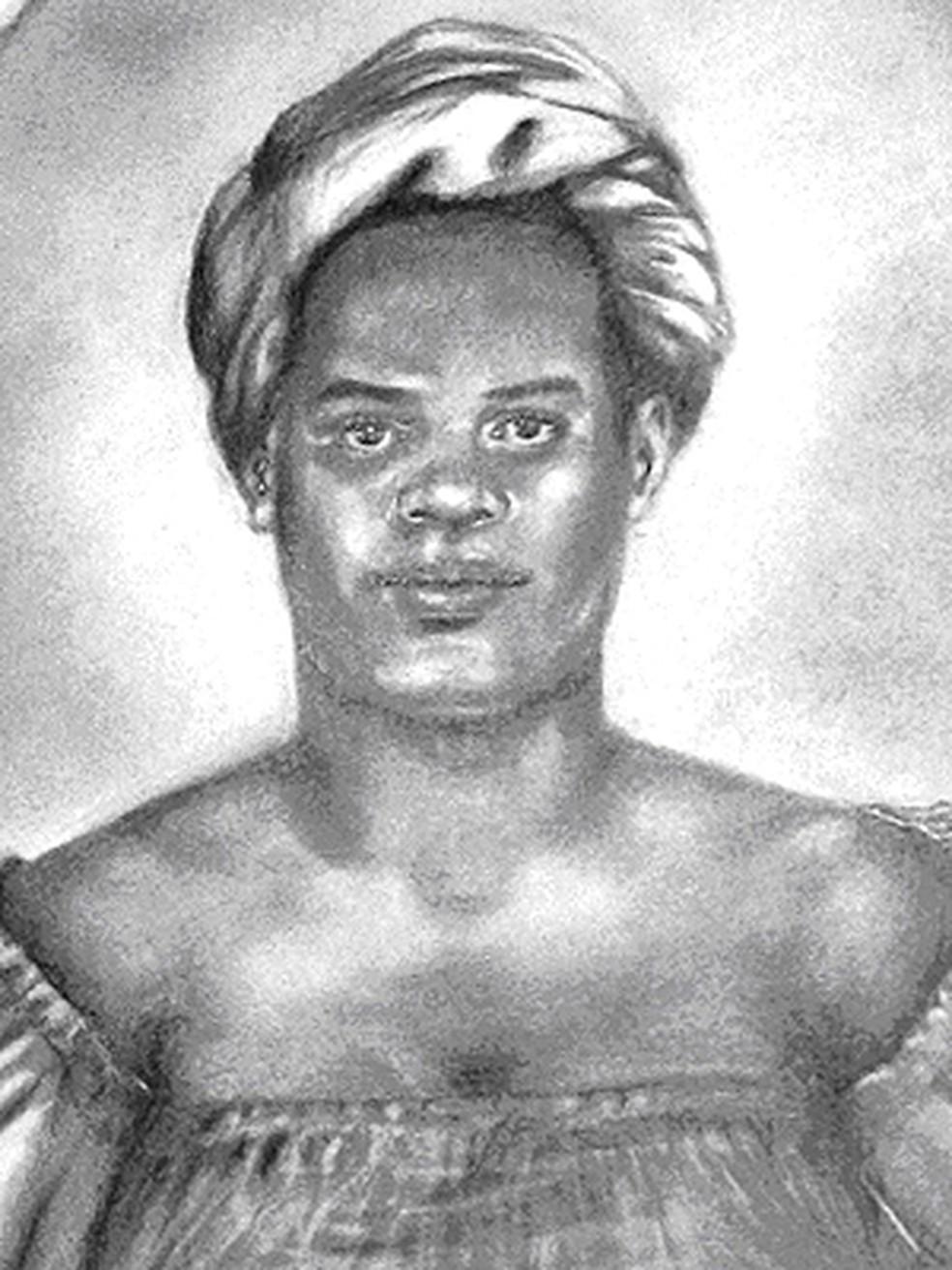 Maria Felipa comandou mulheres que conseguiram expulsar tropas portuguesas da Ilha de Itaparica — Foto: Filomena Modesto Orge/Arquivo Público do Estado da Bahia