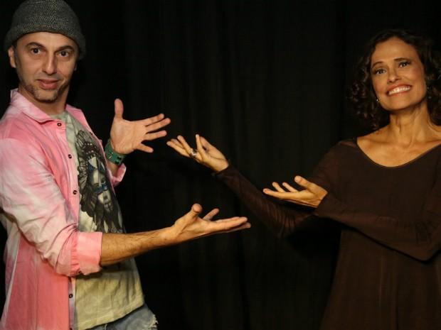 Zeca Baleiro e Zélia Duncan fazem única apresentação, em Curitiba, nesta quinta-feira (7), no Teatro Guaíra (Foto: Dudu Leal / Divulgação)