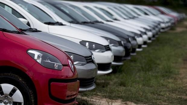 Carros novos em pátio de Taubate, São Paulo. Carros - veículos - vendas - carro (Foto: Roosevelt Cassio/Reuters)
