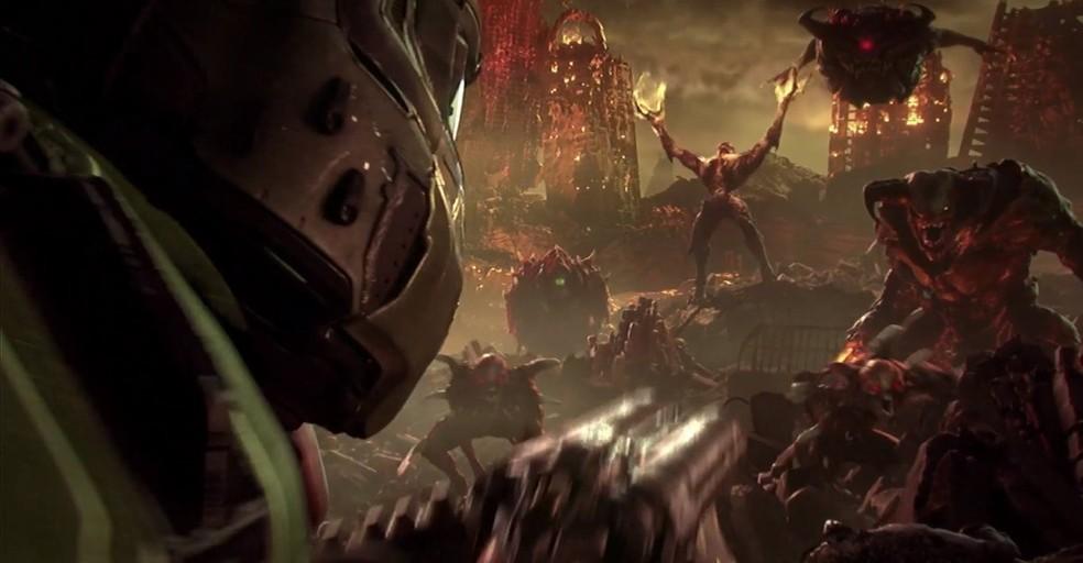 Doom Eternal será lançado para Stadia e rodará a 60fps — Foto: Divulgação/Bethesda