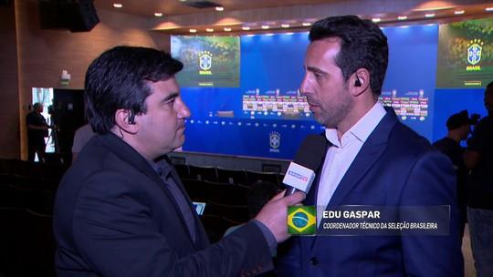 Enfoque de Tite na Seleção muda a partir de convocação, diz Edu Gaspar