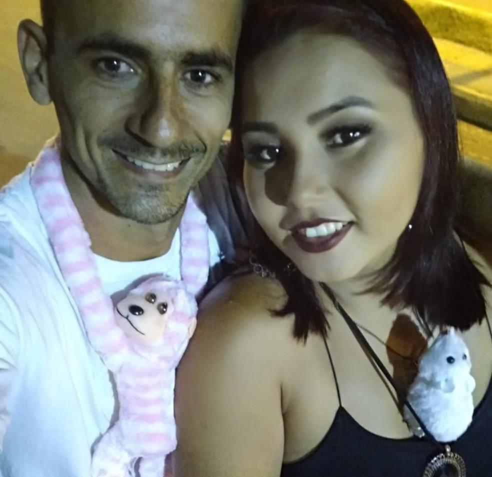 Casal estava junto há três anos e Agerlândia havia decidido terminar o casamento — Foto: Arquivo pessoal