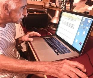 Flávio Migliaccio durante a quarentena  | Marcelo Migliaccio