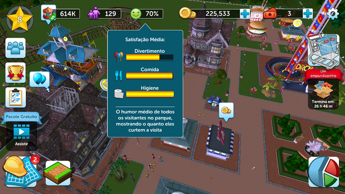 Confira dicas para jogar RollerCoaster Tycoon Touch | Jogos