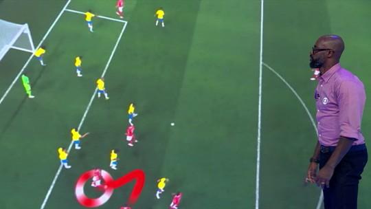 Erro do gol: Grafite analisa lance da Suíça contra o Brasil