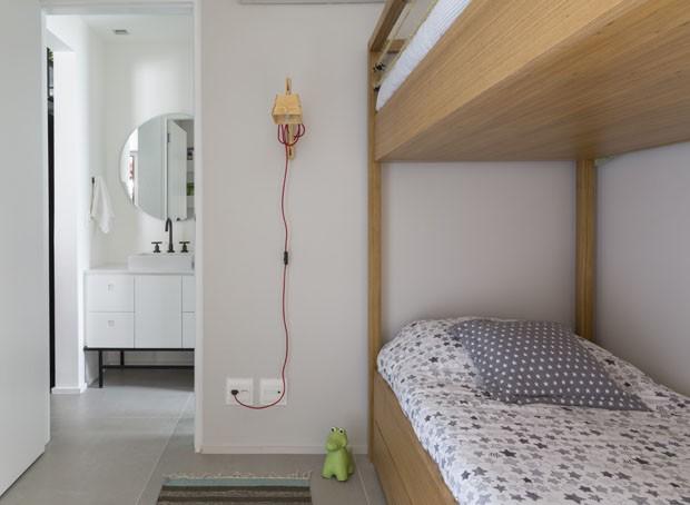 Apartamento jovem e integrado de 80 m² tem espaço para rede e bicicleta (Foto: Divulgação)