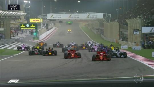 Em fim emocionante, Vettel suporta pressão de Bottas e vence no Barein