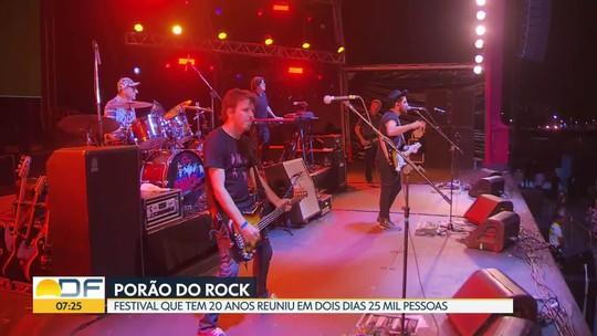 Porão do Rock agitou o último fim de semana de setembro dos brasilienses