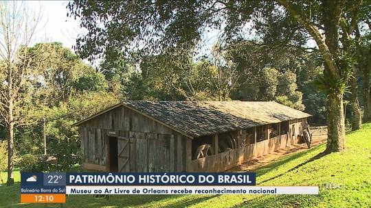 Museu de Orleans é tombado como Patrimônio Cultural Brasileiro