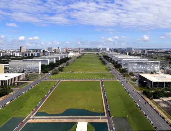 Esplanada dos Ministérios, em Brasília (Foto: Arquivo/Agência Brasil)