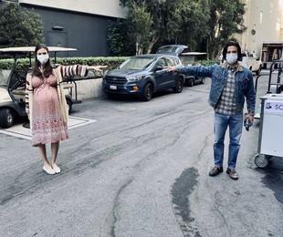 Imagem das gravações da próxima temporada de 'This is us' | Divulgação
