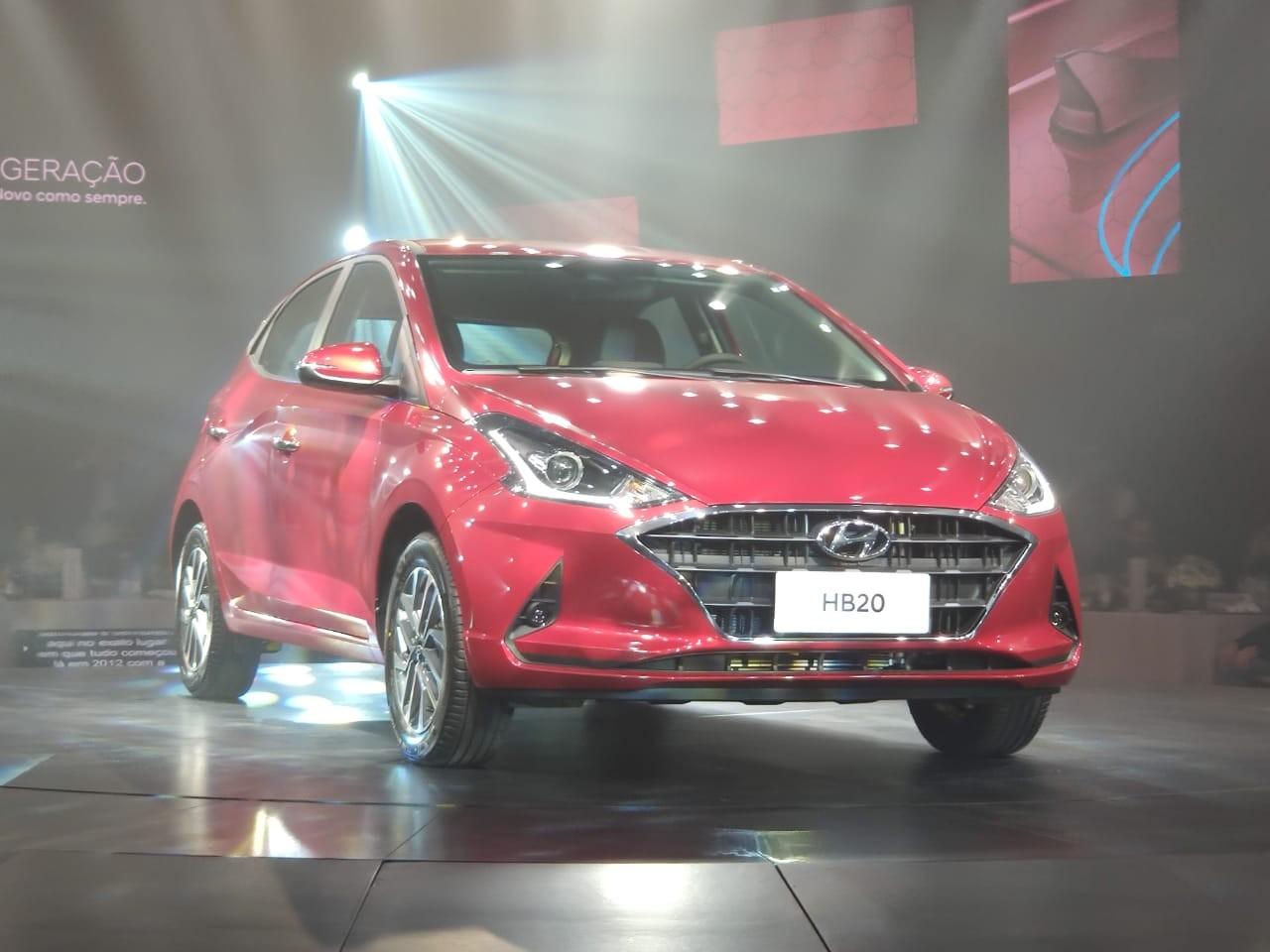 Hyundai lança HB20 2020 com visual renovado, e preço parte de R$ 46.490 - Notícias - Plantão Diário