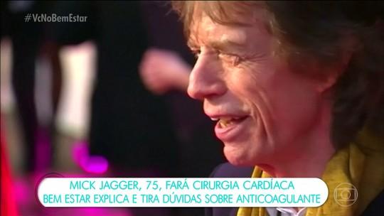 Mick Jagger fará cirurgia cardíaca e turnê dos Rolling Stones é adiada