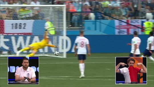 Tiago Leifert narra Inglaterra 6 x 1 Panamá ao melhor estilo do videogame