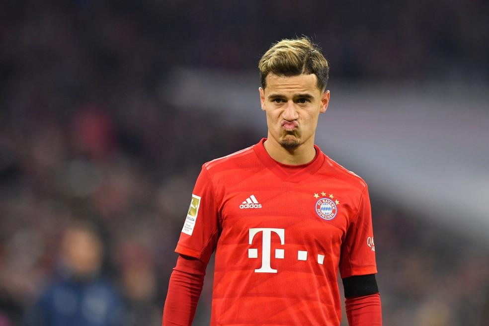 """Presidente do Bayern de Munique vê Coutinho """"inibido"""" no clube ..."""
