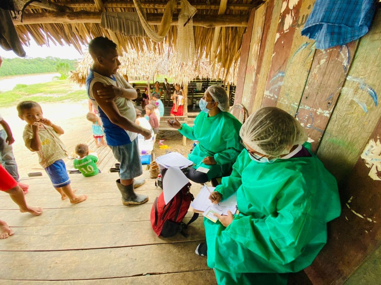 Mais de 4,7 mil índios que vivem em aldeias no AC receberam 1ª dose da vacina contra Covid-19 e mais de 1,8 mil a 2ª dose