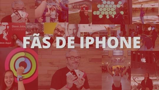 Nos 10 anos do iPhone, fãs contam como tratam celular como filho e de viagens para comprar smartphone da Apple; VÍDEO