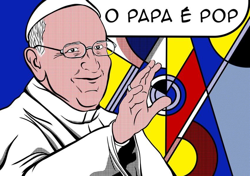 Papel De Parede Papa Francisco