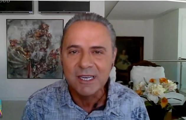 """Luís Roberto, em participação no """"Plantão BBB"""", afirmou torcer pela vitória de Juliette (Foto: Reprodução)"""