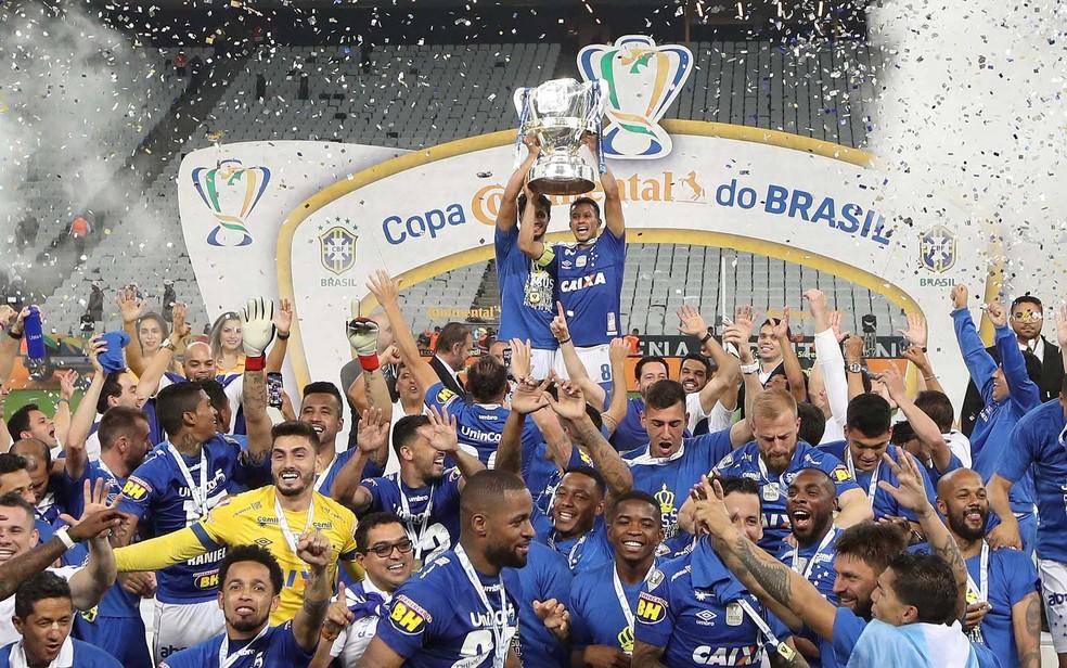 Cruzeiro conquista a Copa do Brasil pela sexta vez — Foto: Leonardo Benassatto / Reuters