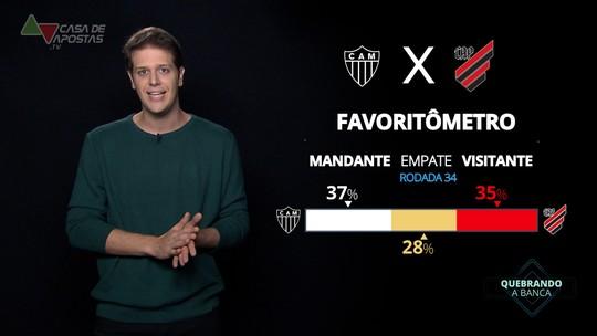Atlético-MG x Athletico-PR: veja onde assistir, escalações, desfalques e arbitragem