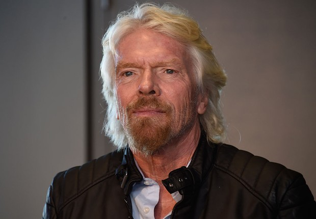O empreendedor britânico Richard Branson , da Virgin (Foto: Frazer Harrison/Getty Images)