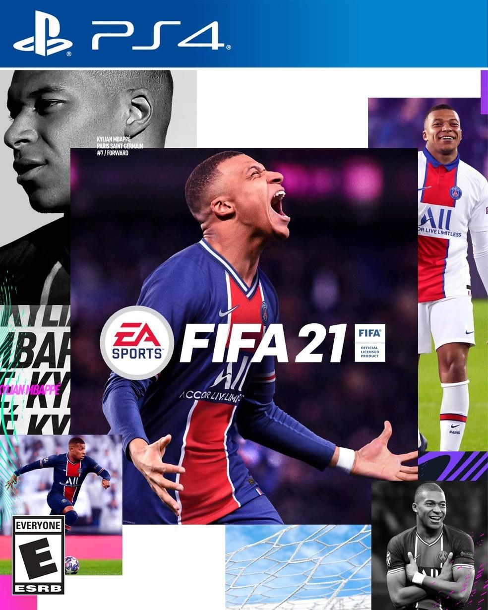 'FIFA 21' anuncia Mbappé na capa e jogador comemora: 'Não vejo a hora de jogar isso'