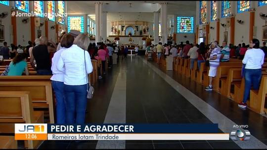 Romeiros começam a chegar em Trindade para Festa do Divino Pai Eterno