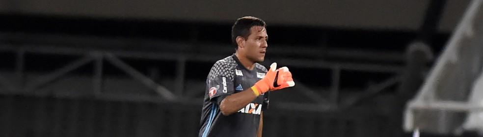Diego Alves, goleiro do Flamengo (Foto: André Durão / GloboEsporte.com)