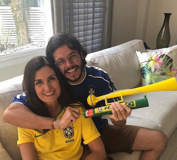 Fátima Bernarde e Túlio Gadelha (Foto: Reprodução/Instagram)