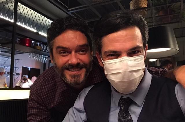 Marcelo Cavalcanti e Mateus Solano (Foto: Arquivo pessoal)