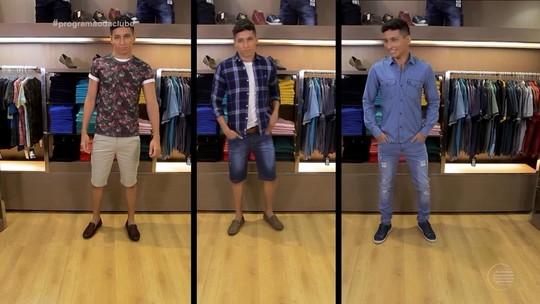Moda masculina tem looks total jeans e floral como tendências para 2018