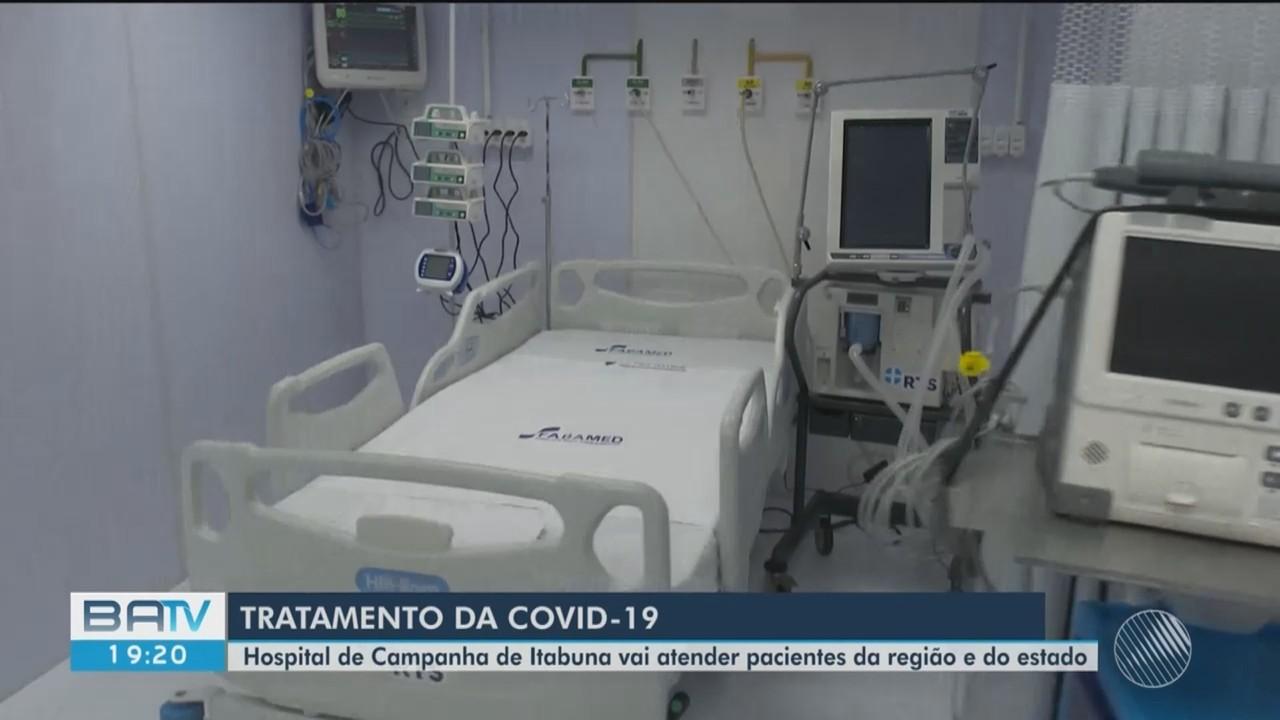Novo hospital de campanha é inaugurado com 40 leitos para Covid-19 em Itabuna