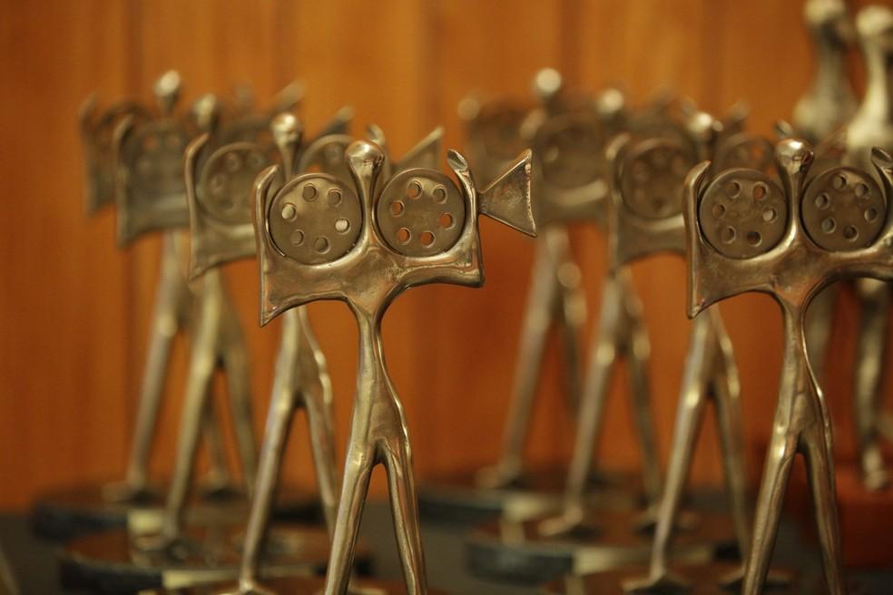 Prêmios da Mostra Brasília no 50º Festival de Brasília do Cinema Brasileiro, oferecidos pela Câmara Legislativa do DF (Foto: Rômulo Juracy/Divulgação)
