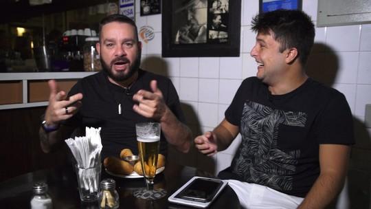 Marcos Chiesa é o convidado da estreia do quadro Quintal da Bola e escala o seu Palmeiras dos sonhos