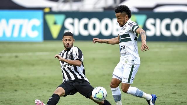 Calebe e Rafinha; Atlético-MG x Coritiba