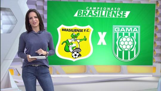 Em momentos distintos, Brasiliense e Gama se enfrentam no Mané Garrincha