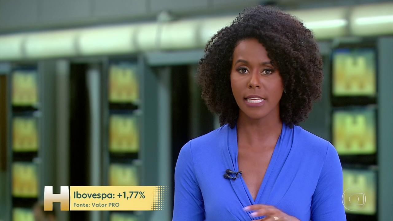 Ibovespa volta a ultrapassar 100 mil pontos, com declarações feitas por Guedes e Maia