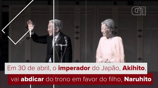 Veja FOTOS da abdicação do imperador Akihito do Japão
